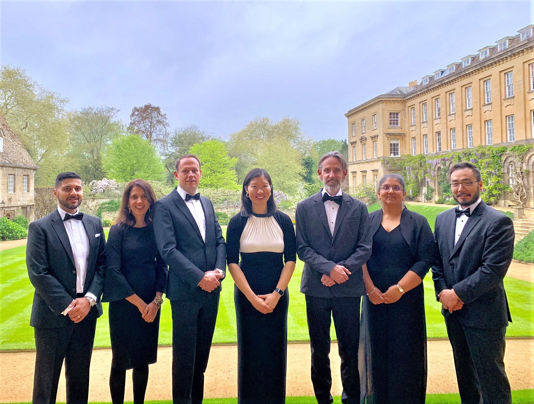 2019 ABC Fellows at Worcester College in Oxford